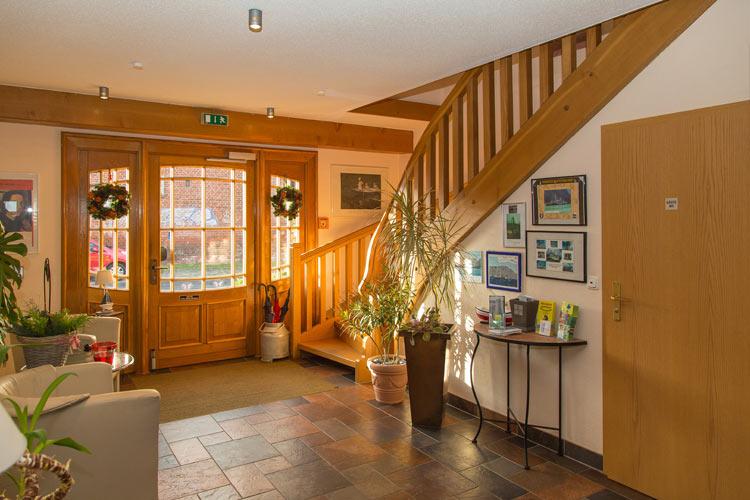 Foyer De Hotel : Hotel schilfhaus wolgast